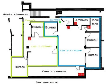Lot n°2 Bureaux B